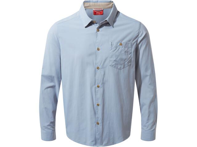 Craghoppers NosiLife Nuoro Camisa Manga Larga Hombre, fogle blue